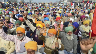 किसान आंदोलन को बदनाम करने की कोशिश कर रही BJP - किसान संयुक्त मोर्चा