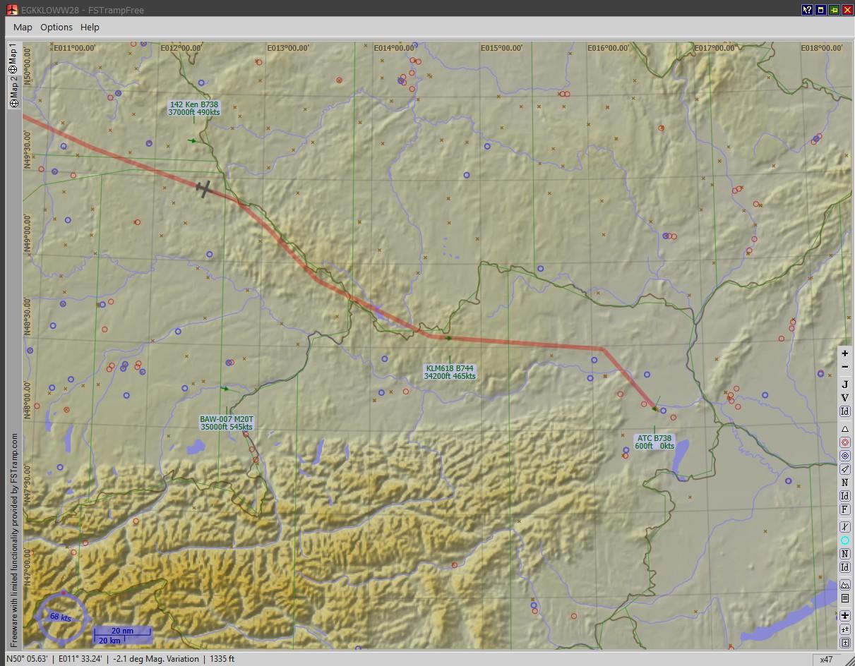 South West Flight Simulation: FS Tramp V6 2: FREE!