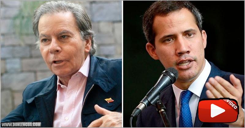 Diego Arria criticó con fuerza a Juan Guaidó por su terrible gestión