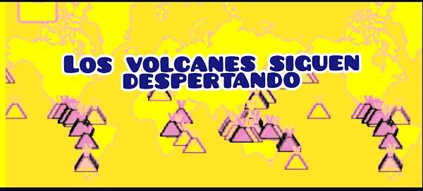 21 volcanes están en erupción en estos momentos.