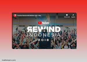 RIlis: YouTube Rewind Indonesia 2018 - Rise