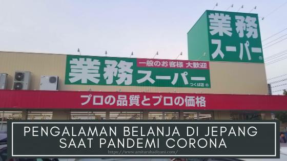 belanja di jepang saat pandemi corona