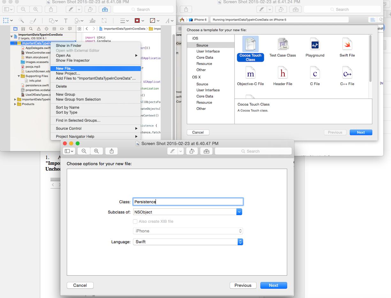 Swift World: Transformable && Binary Data Properties in Core