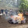 Resmob Polres Minahasa Selatan Gerebek Lokasi Judi Sabung Ayam di Matani