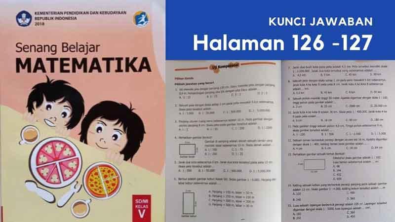 Soal Penilaian Harian Matematika Kelas 5 Materi Pokok Skala dan Pembahasannya