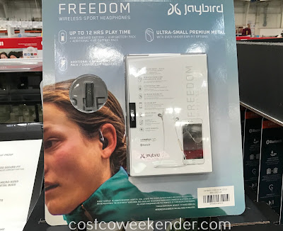 Costco 1181000 - Jaybird Freedom Wireless Sport Headphones: great for any mobile device