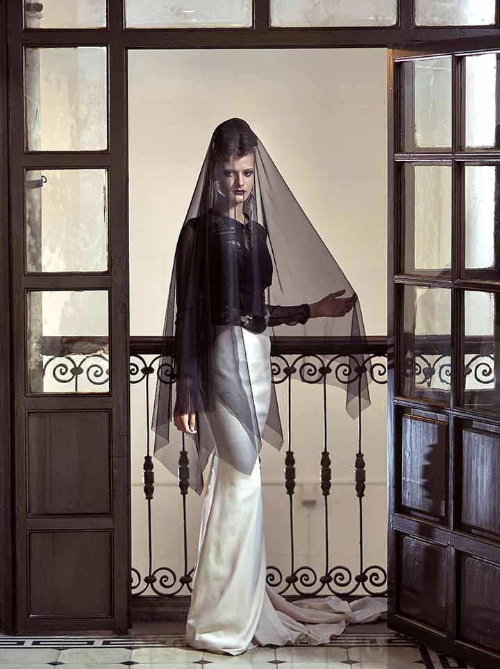 peinado de novia con recogido 2020