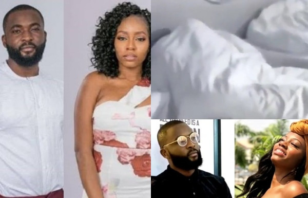 BBNaija: Khafi and Gedoni caught having 'sex' ( watch video)