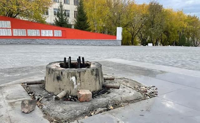 Посушившего носки на Вечном огне бомжа, обвинили в реабилитации фашизма. Теперь ему грозит долгий тюремный срок
