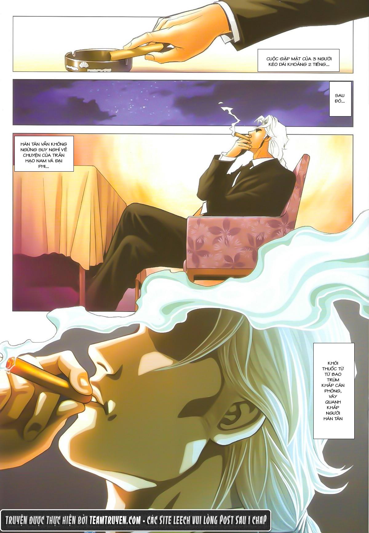 Người Trong Giang Hồ chapter 1602: gặp lại hàn tân trang 16