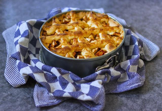 receita de torta de maçã americana