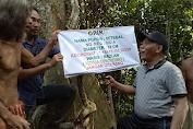 Ketua DPRD Tebo Terima Waris Pohon Dari SAD