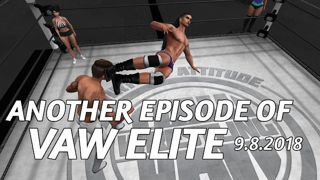 Another Episode of VAW ELITE In Second Life (9.8.2018) • Second Life Pro-Wrestling