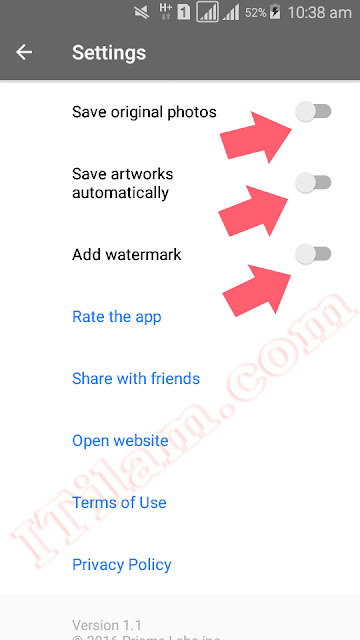 This is how you can remove the Prisma watermark from your photos