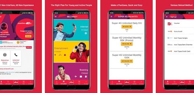 Mengecek Pulsa Smartfren via Aplikasi