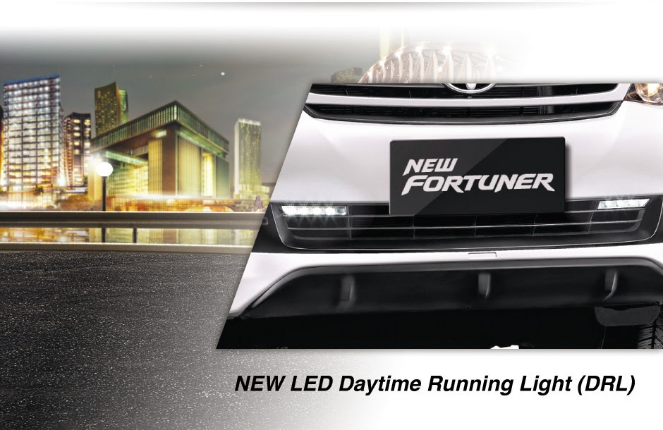 new-led daytime-running light