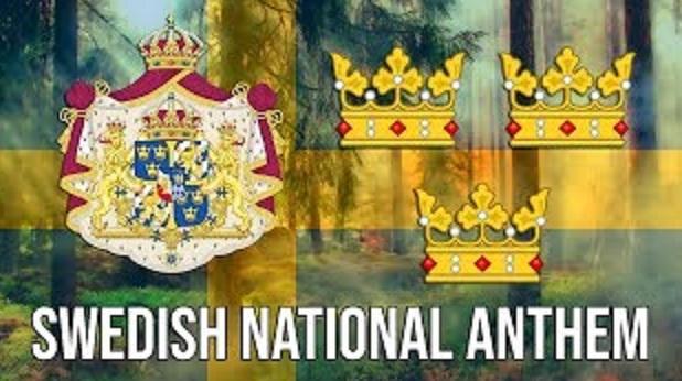 النشيد الوطني السويدي - كلمات باللغتين السويدية والعربية - Swedish National Anthem