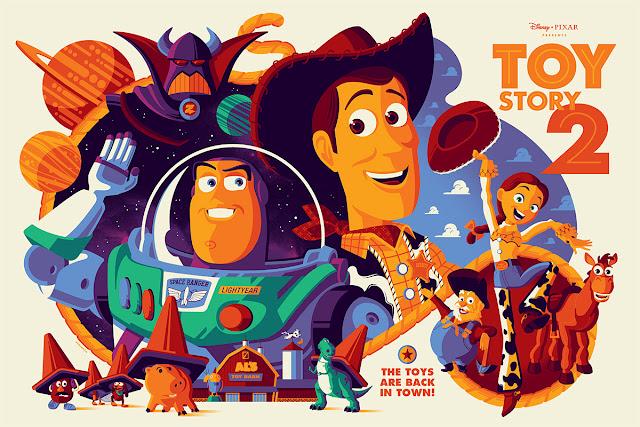 Pixar Toy Story 2 Tom Whalen Mondo screenprint Poster