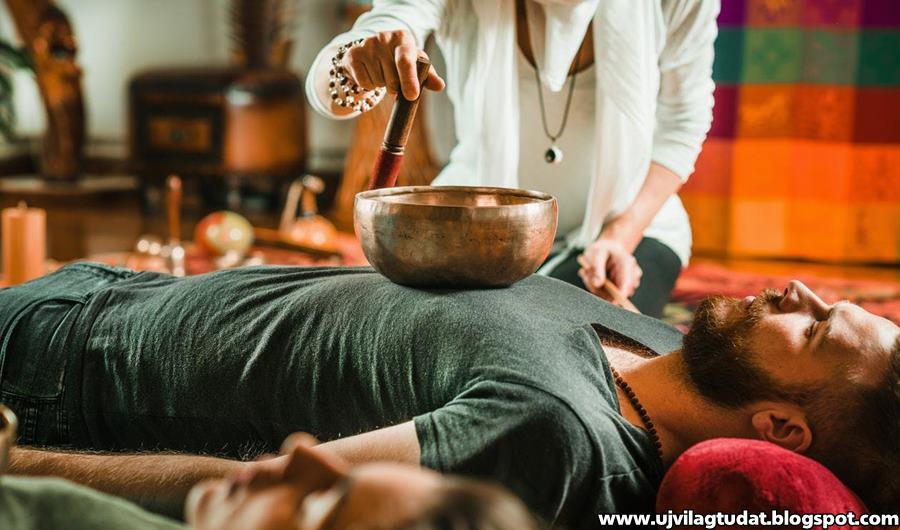 A tibeti hangtálak gyógyító hatása, melyek frekvenciái többféle betegség kezelésére használhatók