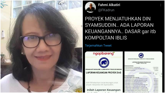 Laporan Keuangan Proyek 'Din' Bocor, Jubir GAR ITB: Mungkin Ada yang Iseng, Hehe...