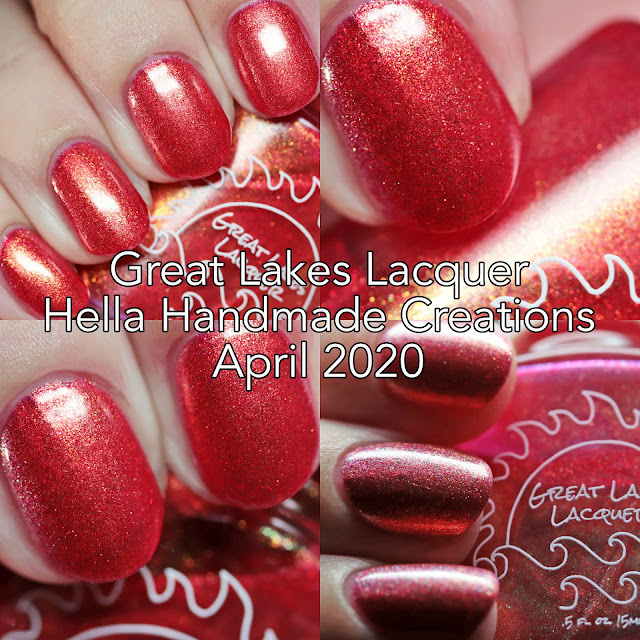 Great Lakes Lacquer Hella Handmade Creations April 2020