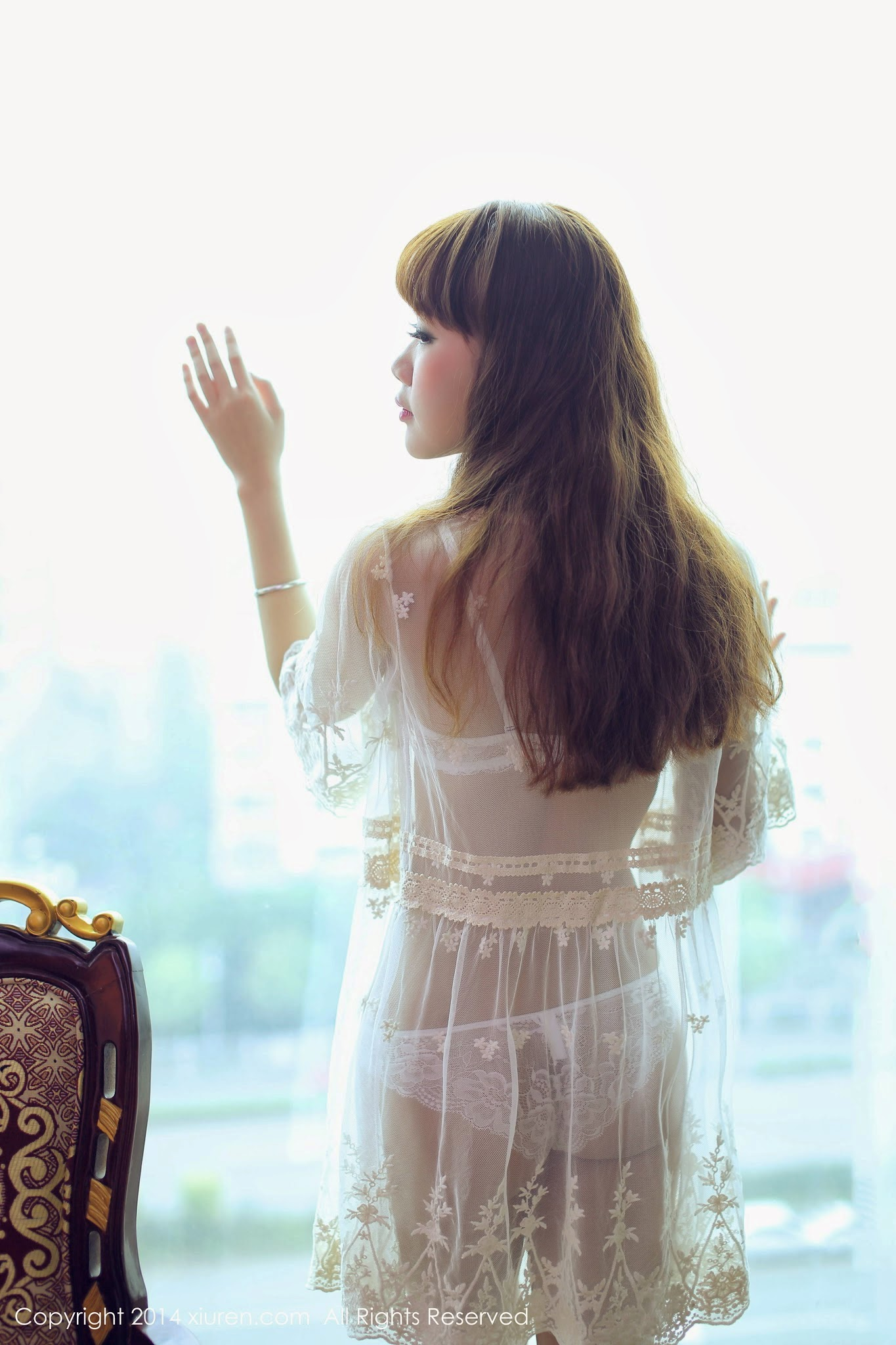 XiuRen 优琪琪子yuki | See Through Lingerie |[秀人网美媛馆]2014.03.15 ...