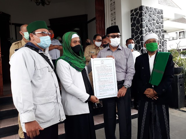 Pemkot Sukabumi Dapat Dukungan Aksi GMPS Wujudkan Sukabumi Renyah
