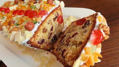 BOŽIĆNI KRUH koji traje više mjeseci ▪️ CHRISTMAS FRUIT CAKE (can last for more than a few months)