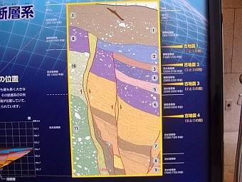 岡谷断層が1000~2000年ごとに活動した証拠