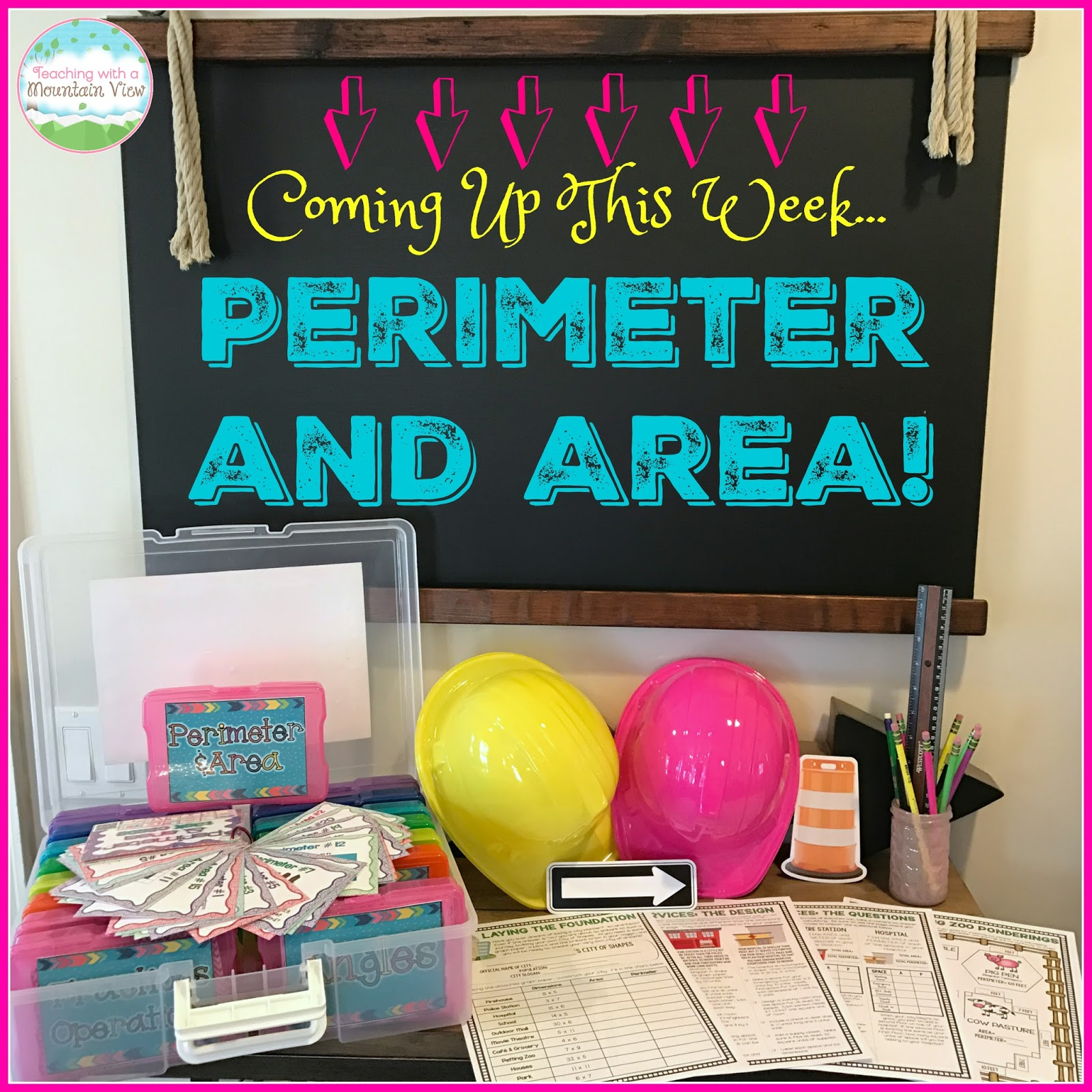 Before We Began Our Perimeter And Area Unit This Year, I Sent Out This  Little Teaser To My Students Via Classdojo