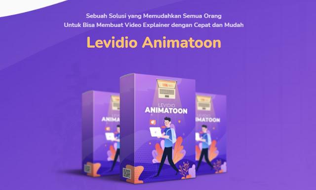Levideo membuat animasi menjadi sangat mudah