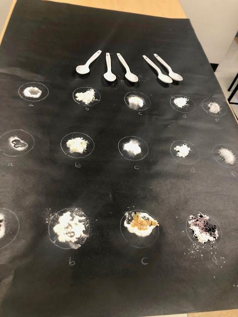 identify matter based on properties