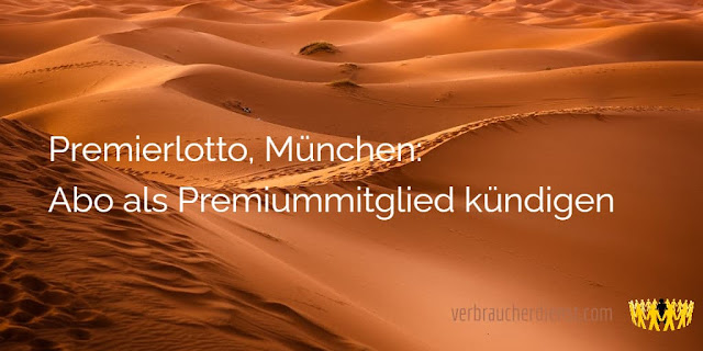 Titel: Premierlotto, München: Abo als Premiummitglied kündigen