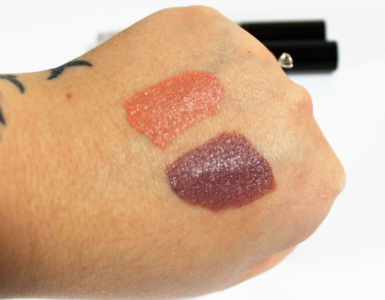 Nyx Liquid Lipstick Swatch