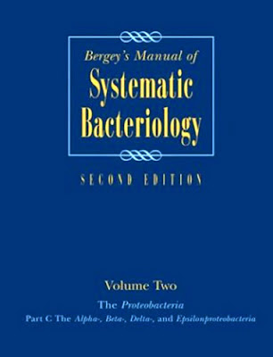 Bergey's Systematic Bacteriology
