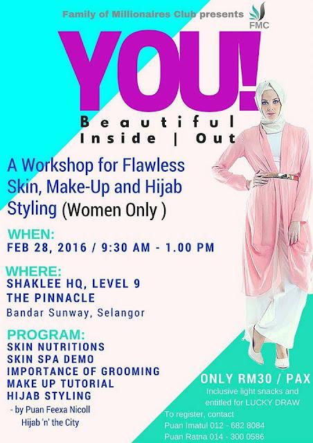 Seminar Kecantikan Dalam dan Luaran