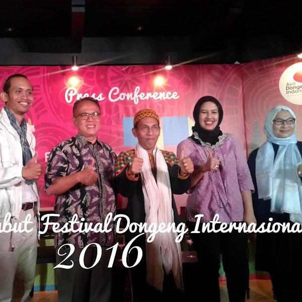 Festival Dongeng Internasional Indonesia 2016 dan Manfaat Dongeng Untuk Si Kecil