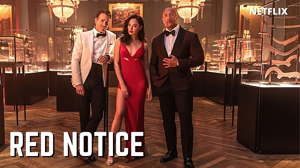 The Rock Red Notice Trailer