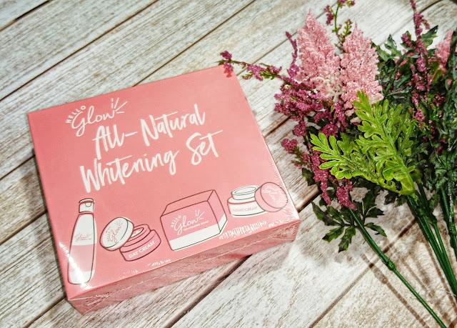 Hello Glow All-Natural Whitening Set