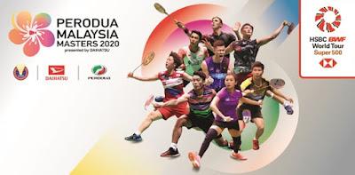 Harga Tiket Badminton Malaysia Masters 2020