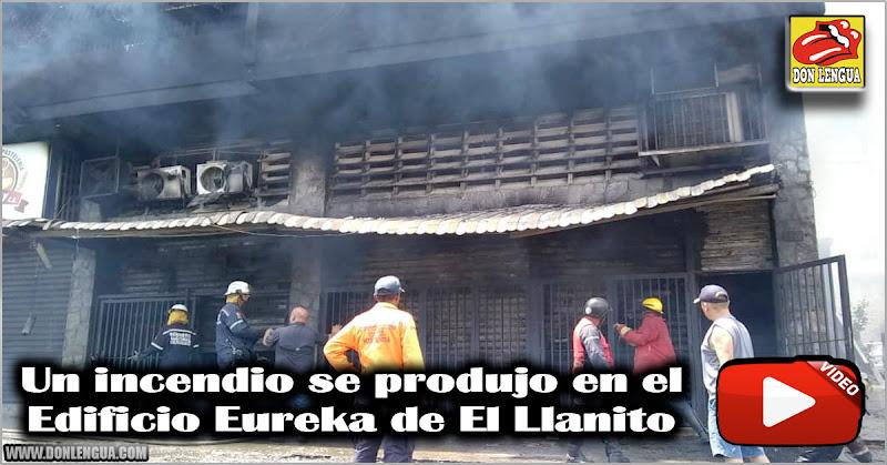 Un incendio se produjo en el Edificio Eureka de El Llanito