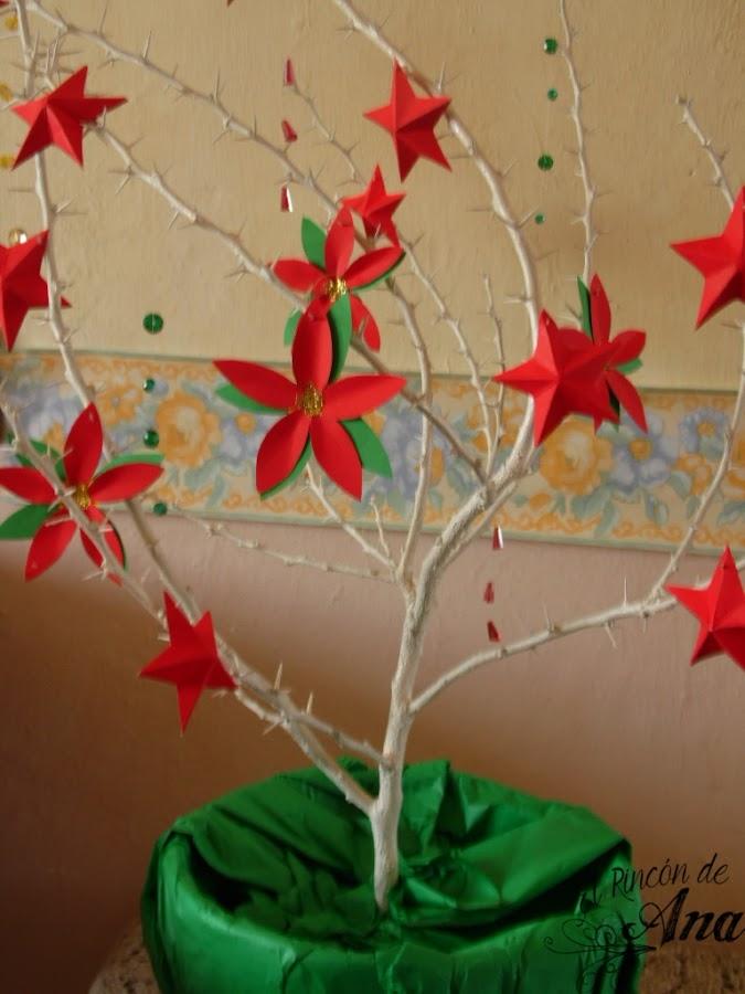 2 ideas de centros de mesa navideños