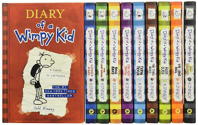 Diary of a Wimpy Kid Series 15 Books Collection