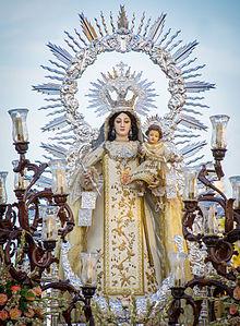 Horario e Itinerario Salida Procesional de la Virgen de las Mercedes. San Fernando 24 de Septiembre del 2021