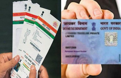 pan card link to aadhar online