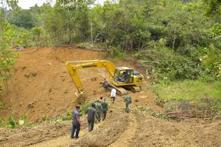 TMMD ke-109 Tahun 2020 Kodim 0210/TU Dibuka, Desa Marpadan Menuju Desa Sihastoruan Kecamatan Tarabintang Terhubung