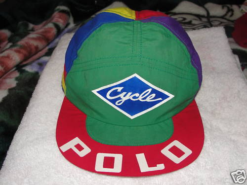 look for lots of Colors...this Polo Cycling Cap cashed-in over  500 for the  lucky seller. 8a194eae0103