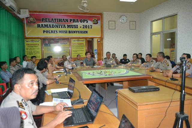 Kapolres Muba: OPS Ramhadaniya 2017 Di Muba Siap Dilaksanakan