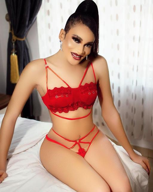 I am a woman Nigerian transgender Alex Buchi says as he turns a year older (Photos)