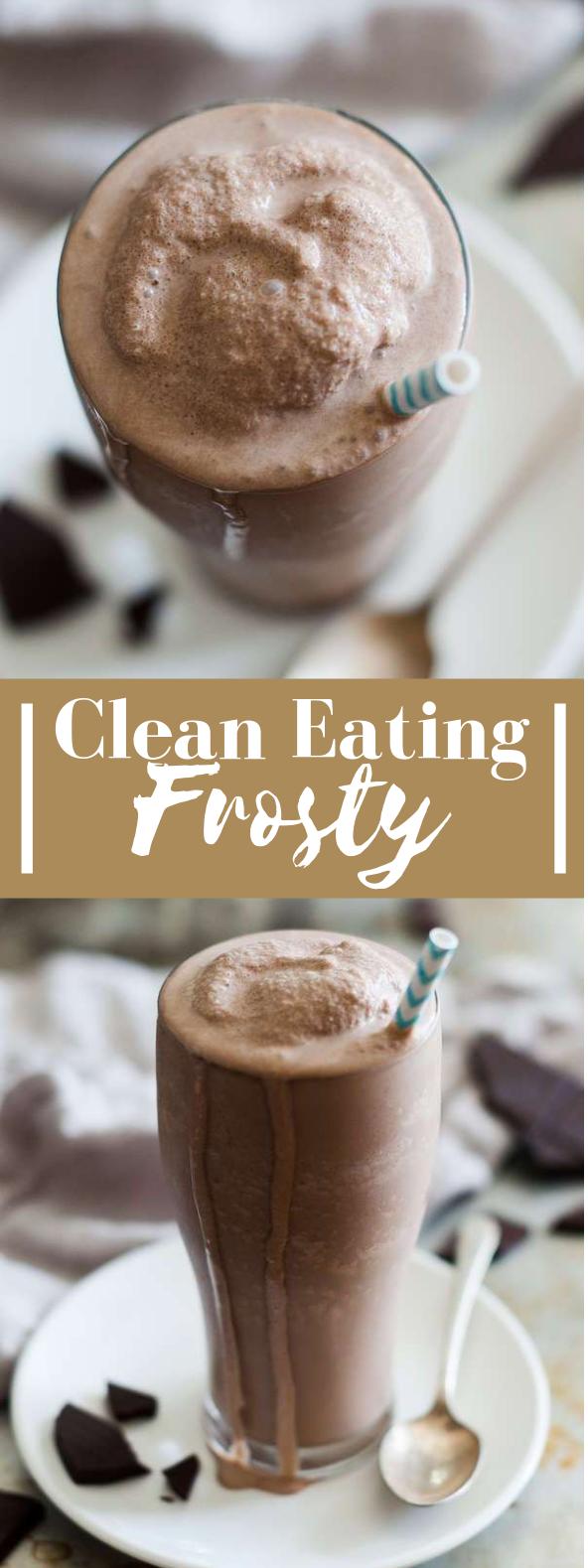 Copycat Paleo Frosty Recipe #healthydrink #veganrecipe